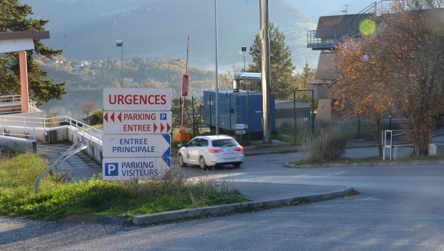 Aucun transfert n'est prévu au service de réanimation du CH de Rodez.