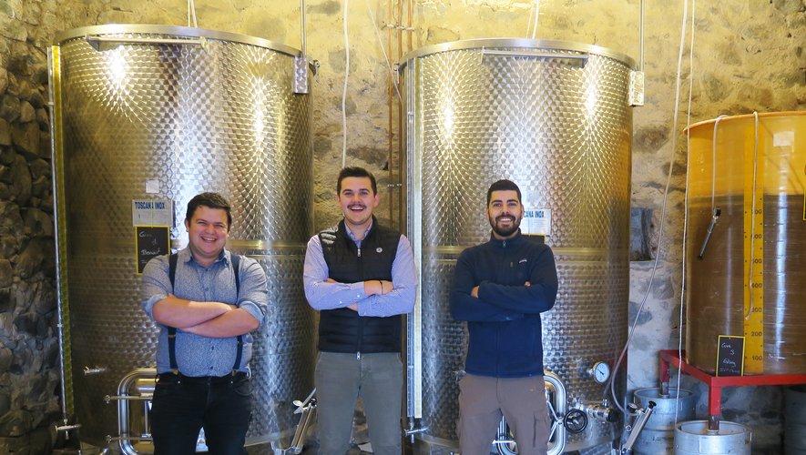 Bertrand, Paul et Pierre redonnent vie aux vignes familiales par amour des souches du vin et de leurs racines.