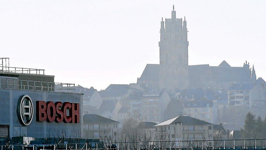 Rodez et l'Aveyron attirent de la population. Mais l'avenir de Bosch pourrait noircir le tableau ces prochaines années.