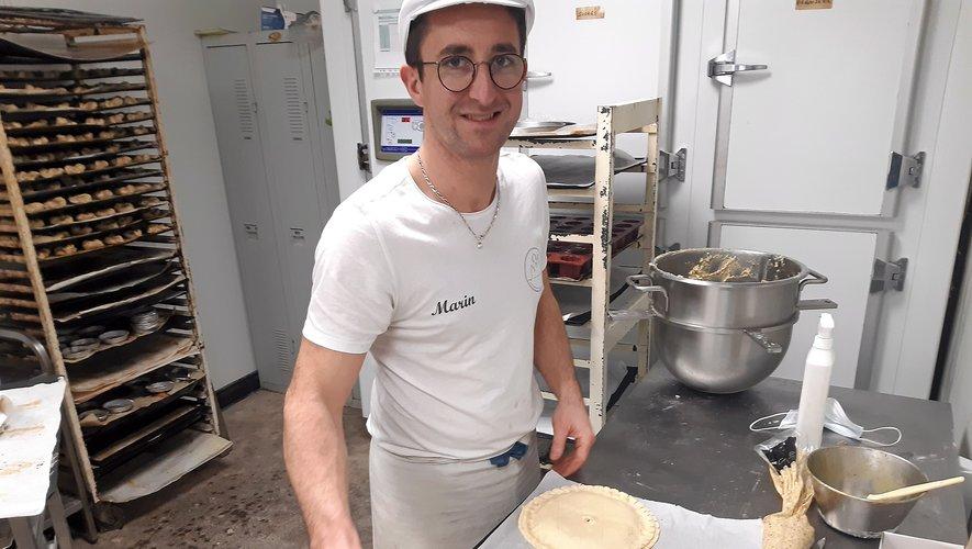 Marin Aubeleau, boulangerie de la cathédrale.