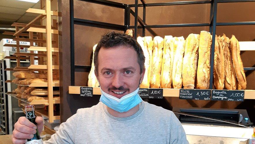Ghislain Anglade, l'Artisan boulanger, Gourgan.