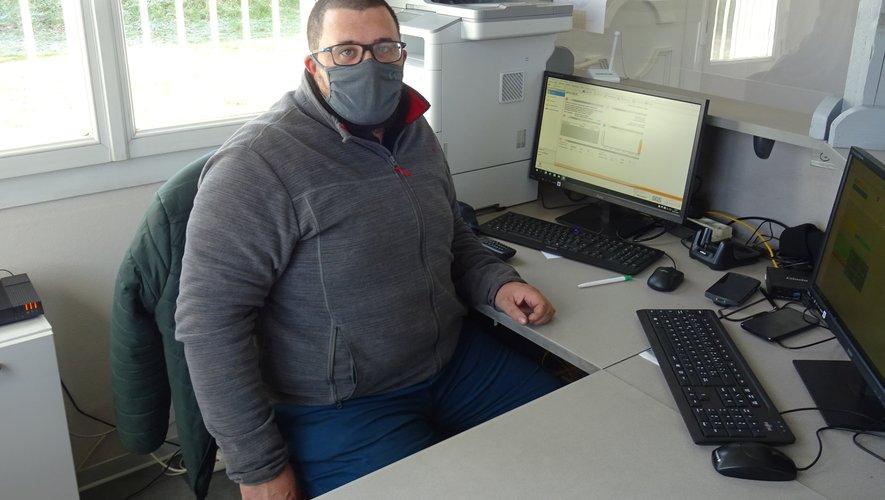 Loïc Gayrard, nouveau contrôleur technique.
