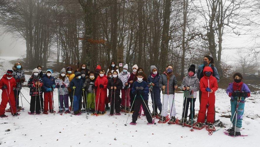 Ski de fond et balade en raquettes.