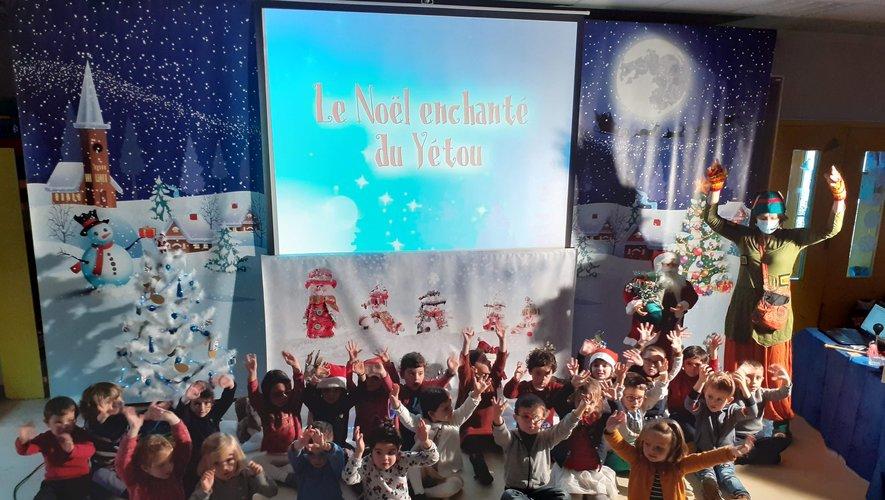 Le Noël enchanté du Yétou à l'école  Saint-Jean