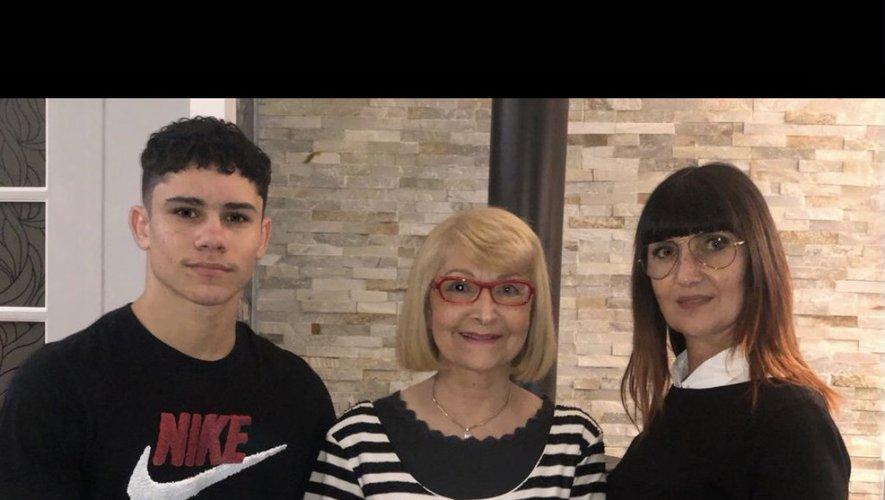 Mathias, Lily et Corine sont fiers d'évoluer dans l'univers de la coiffure millavoise.