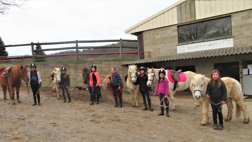 Que du bonheur pour les cavaliers du centre équestre de Bannès