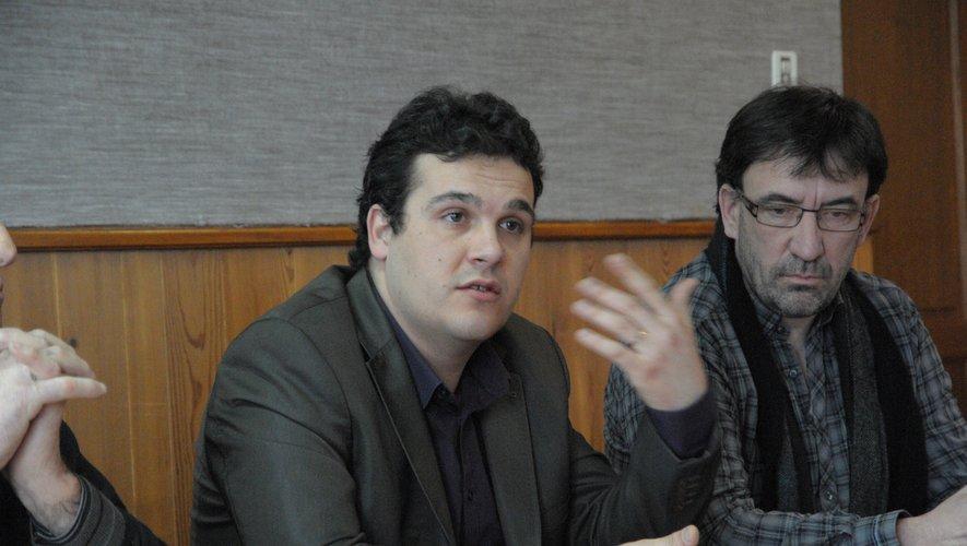 Bruno Ferrand en 2013, alors qu'il occupait les fonctions de maire de La Cavalerie.