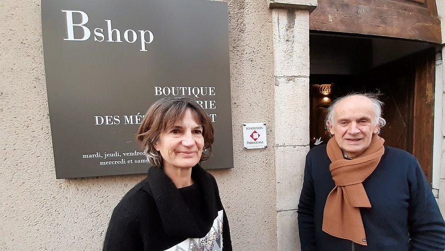 Claire Méravilles et Jean-Michel Cosson ravis de cette reconnaissance.