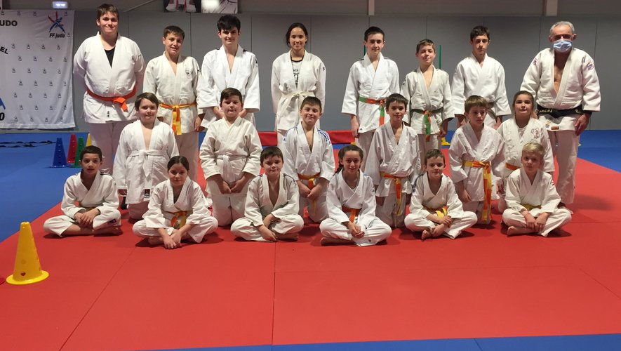 Le judo club qui compte près de 100 licenciés a su fidéliser ses adhérents.