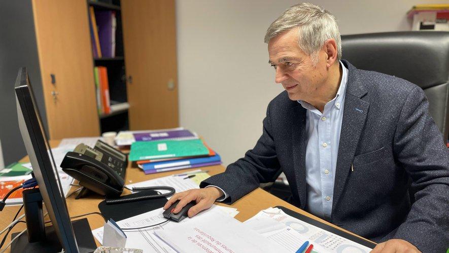 Michel Causse, maire de Réquista et président de la communauté de communes du Réquistanais.