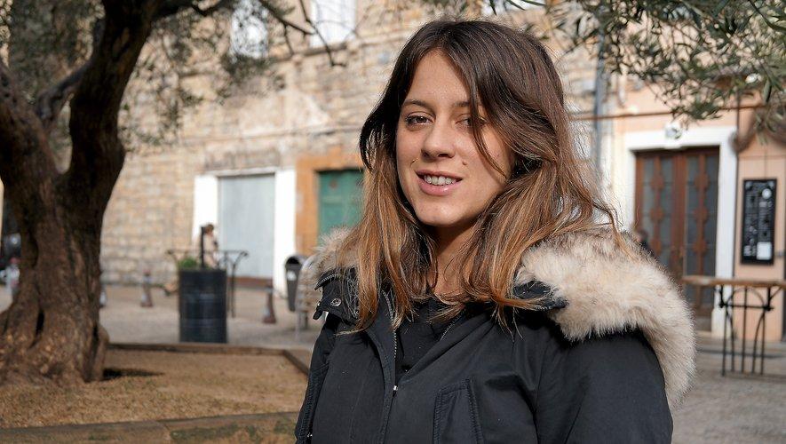 Mathilde Margaillan (Millau),  la nouvelle présidente.