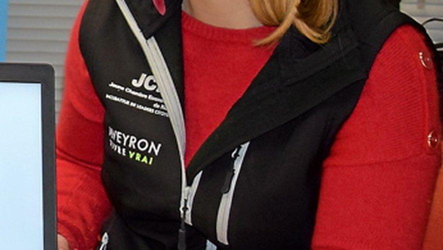 Julie Peyrat (Rodez), la trésorière.