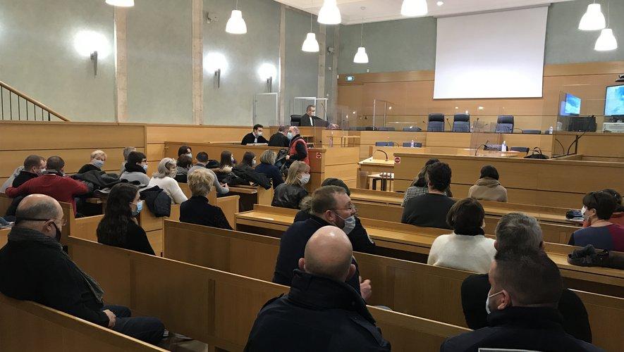 Le procès d'Alexandre Dainotti se poursuit jusqu'à vendredi devant le tribunal de Rodez.
