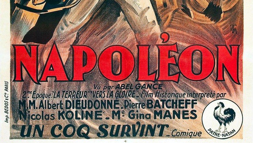 """""""Napoléon"""", d'Abel Gance, avec Albert Dieudonné et Antonin Artaud, fut projeté pour la première fois en 1927."""