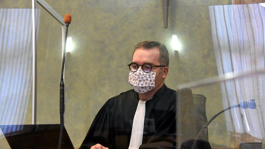 Olivier Naboulet, l'avocat général pendant le procès.