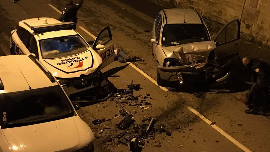 Le choc a eu lieu vers 23 h, à Aubin.