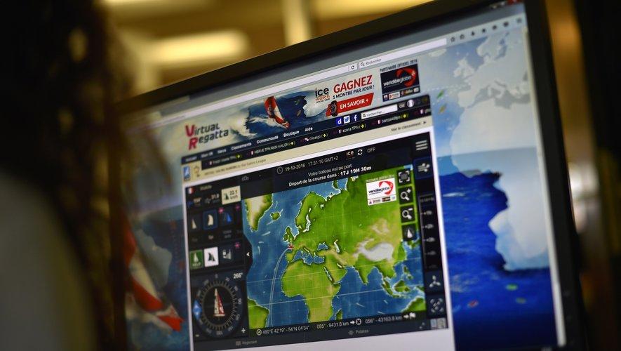 """Plus d'un million de joueurs, un record, ont participé au jeu de simulation """"Virtual Regatta"""" en marge du Vendée Globe."""