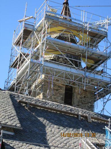 Le renouveau de l'église de Fenayrols, à Baraqueville