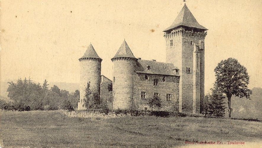 Le château du Clos à Firmi.