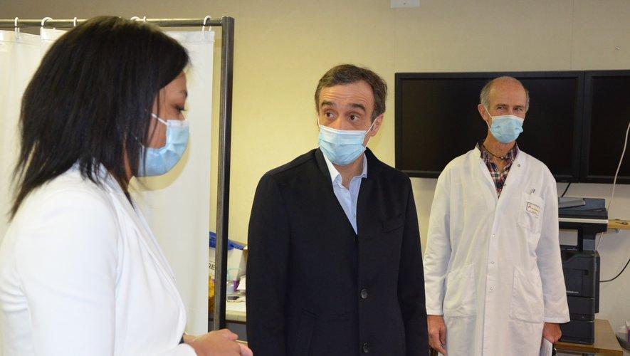 Arnaud Viala souhaite accélérer le nombre de vaccinations.