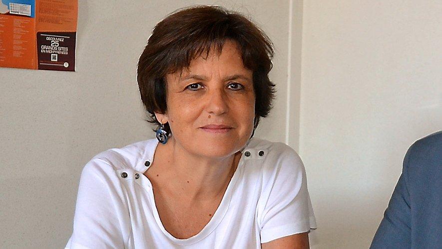 Pascale Bauquis est la directrice de l'Ehpad des Terrasses des Causses.