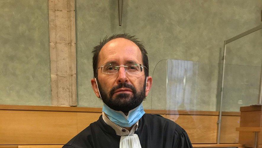 Me Cédric Galandrin,  avocat de la partie civile.