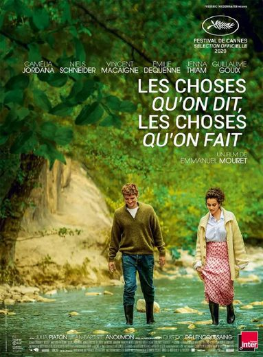 """Le prix du meilleur film lors de la 26e cérémonie des Lumières de la presse internationale est revenu à """"Les choses qu'on dit, les choses qu'on fait""""."""