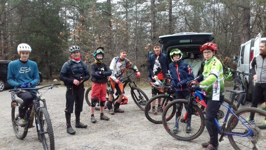 Le matin, c'était trial et  BMX pour les jeunes.