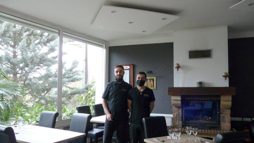 Romain et Tony Marty sont les heureux nouveaux propriétaires.