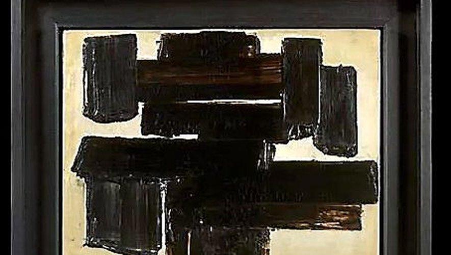 Un tableau de Soulages marqué par son histoire...