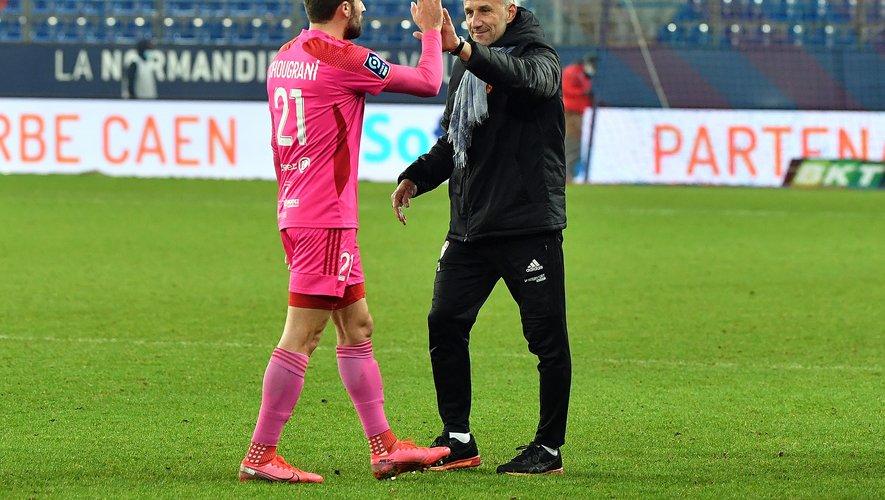 Laurent Peyrelade a apprécié le résultat et le contenu du match à Caen.