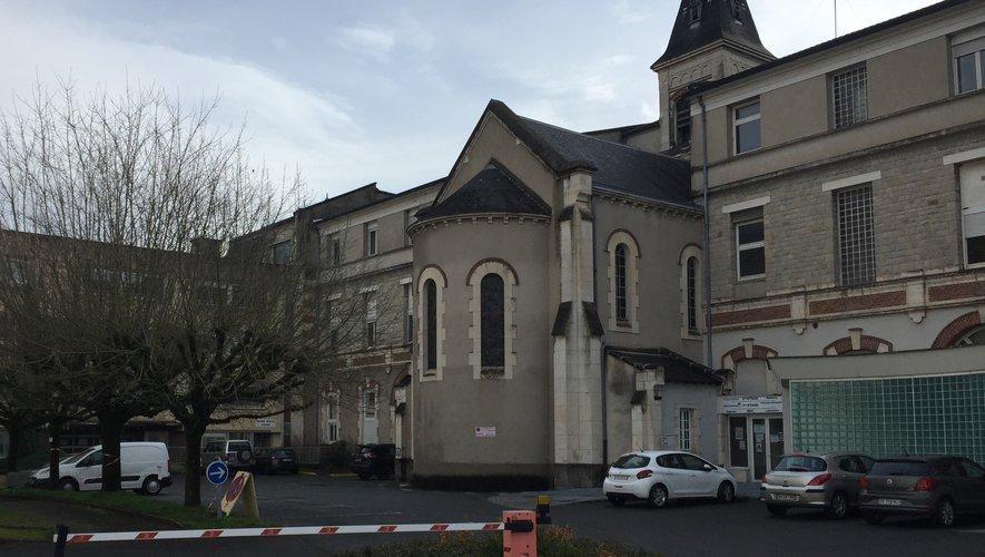 Le centre de vaccination est installé au centre hospitalier de Decazeville.