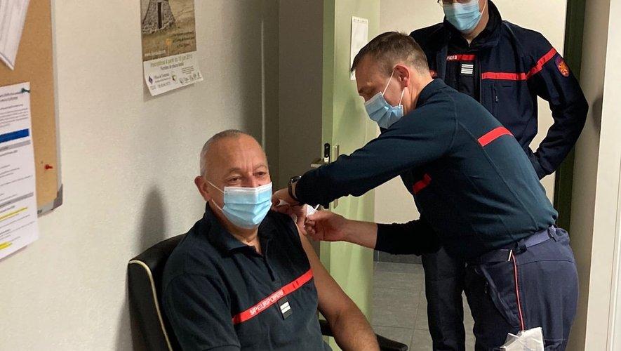 180 personnes ont été vaccinées.