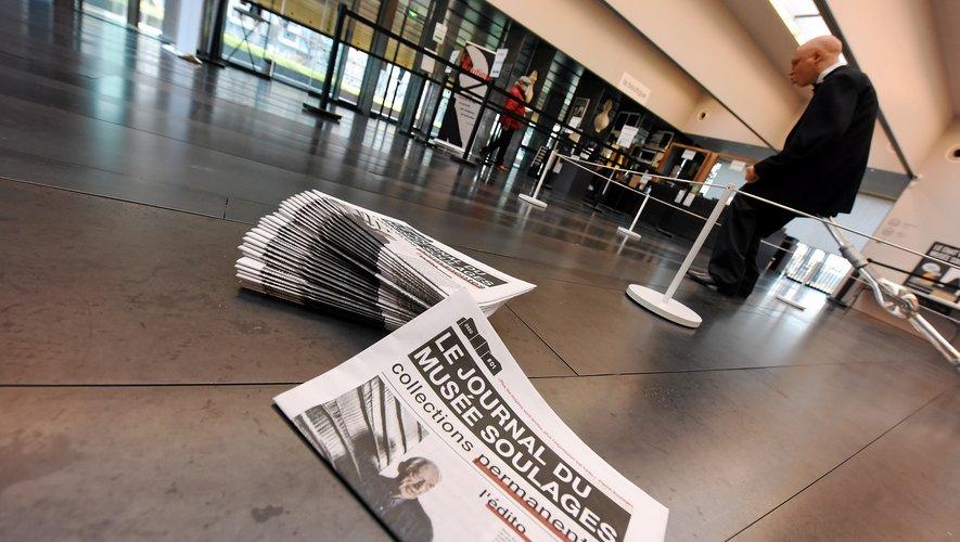 Le premier numéro du musée Soulages est désormais en vente.