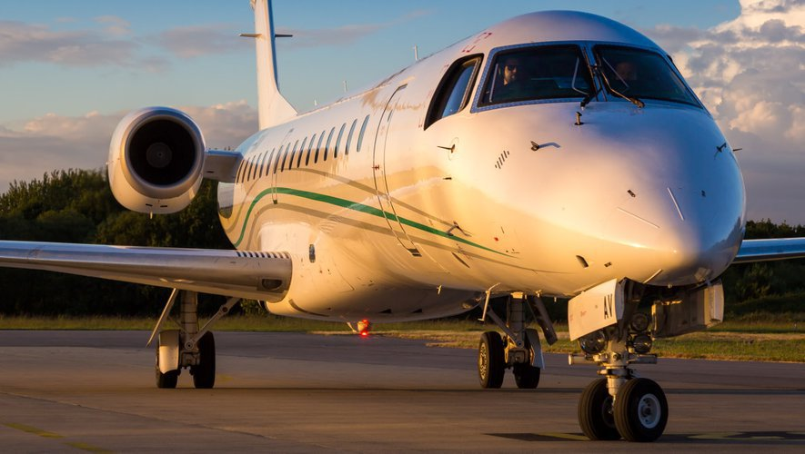 Les avions de la compagnie Amelia ont réussi à atteindre un taux de remplissage de 40 %.