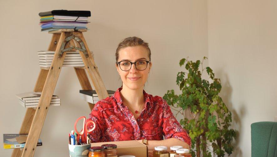 """Olga développe une gamme de produits qui sublime le """"jardin aveyronnais"""" : """"J'essaie, au maximum, de travailler avec des producteurs locaux."""" OG"""