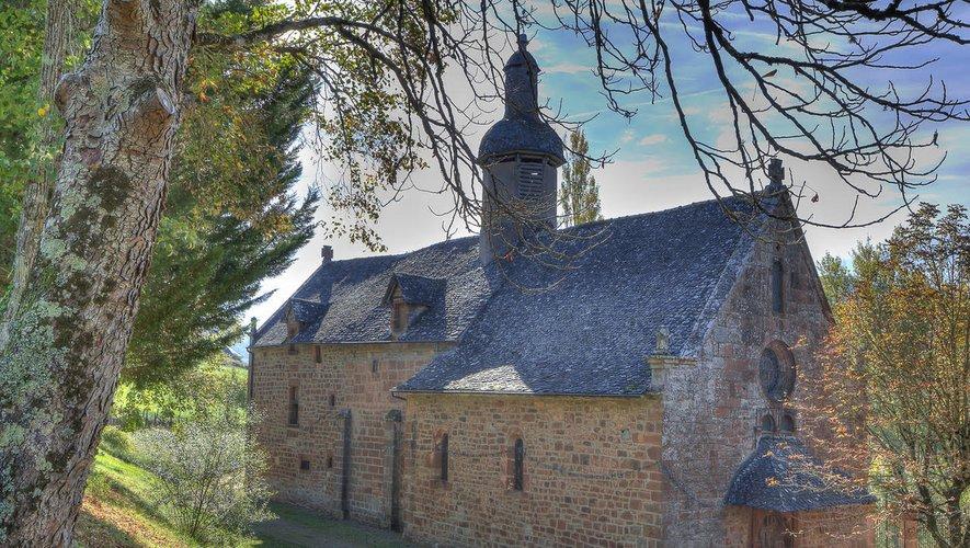 La chapelle Notre-Dame de Foncourrieu, située à Marcillac-Vallon, qui date du XIVe siècle, a connu une cure de jouvence ces dernières années.Repro CP