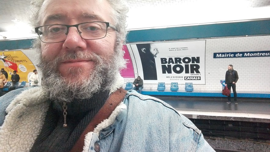"""L'acteur a joué un rôle important dans la troisième saison de la série """"Baron Noir"""" sortie sur Canal + au mois de mars dernier.  DR"""