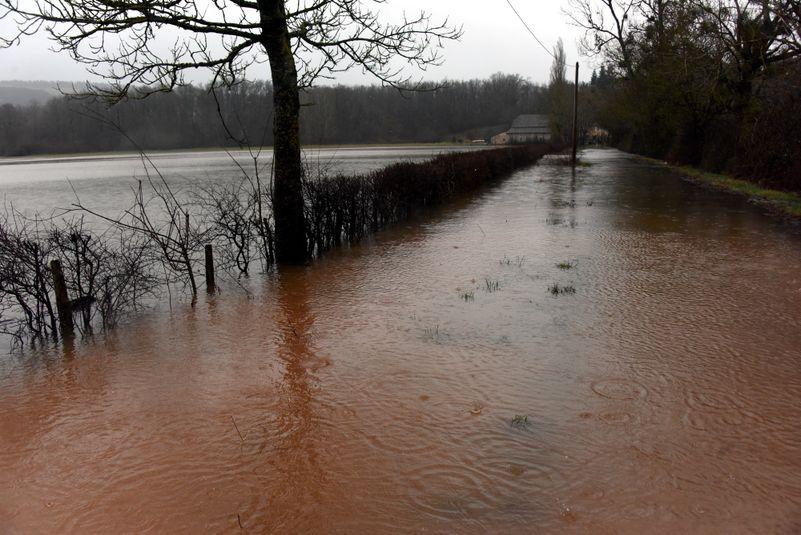 Le département a été placé en en vigilance orange pluie, inondations, et crues.