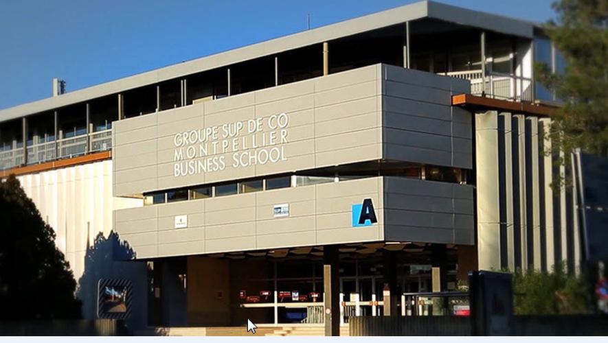 Parmi les grandes écoles à votre écoute, Montpellier Business School.
