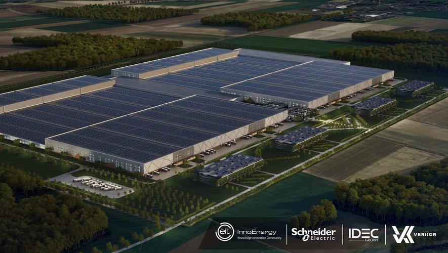 Une usine de plus d'un kilomètre de long sur un kilomètre de large : voilà l'ambition de Verkor, appelé à devenir l'un des leaders européens du marché de batteries électriques.