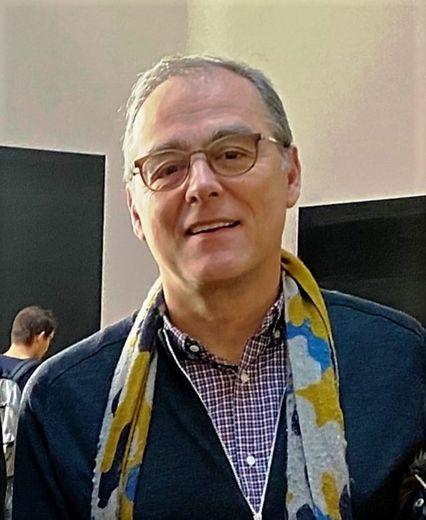 """Pierre Pradié est également administrateur des """"Amisdu Musée Soulages""""."""