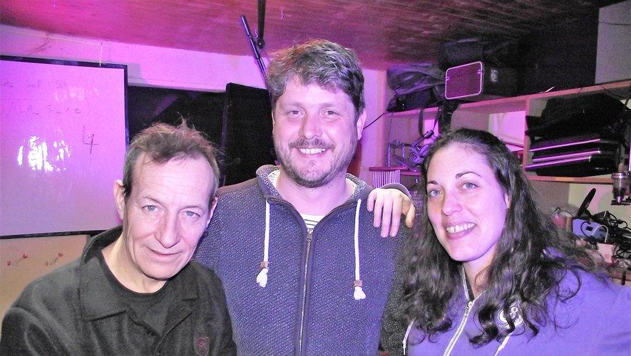 """Tof, Lolo et Mélo forment le trio """"Les fines gueules""""."""