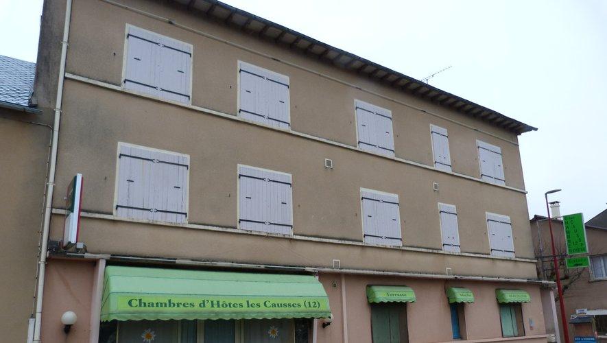 L'hôtel des Causses.