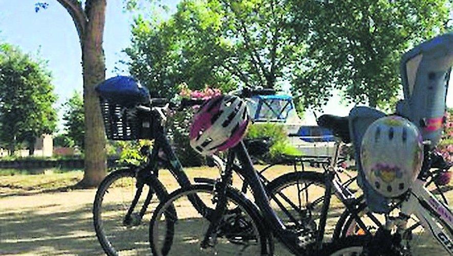 Un petit tour à vélo.