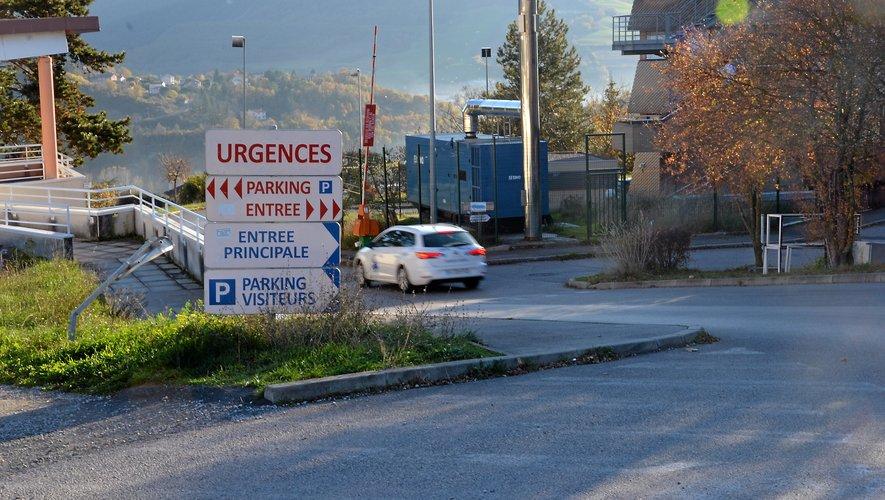 L'hôpital de Millau en proie à des tensions.