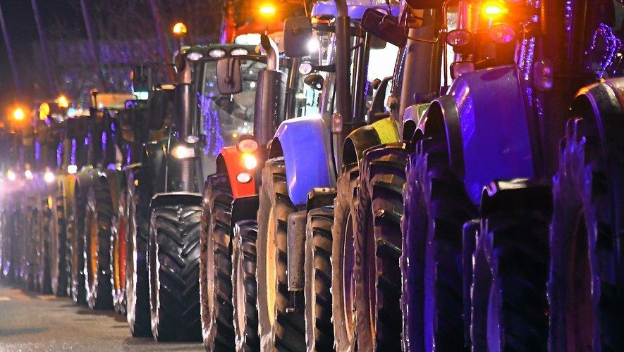 Mi-décembre, les agriculteurs avaient manifesté à Rodez contre la nouvelle carte des zones vulnérables.