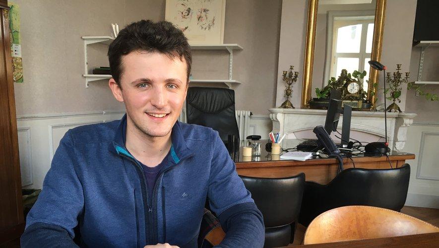 Valentin Artal, l'adjoint porteur du projet de votation citoyenne.