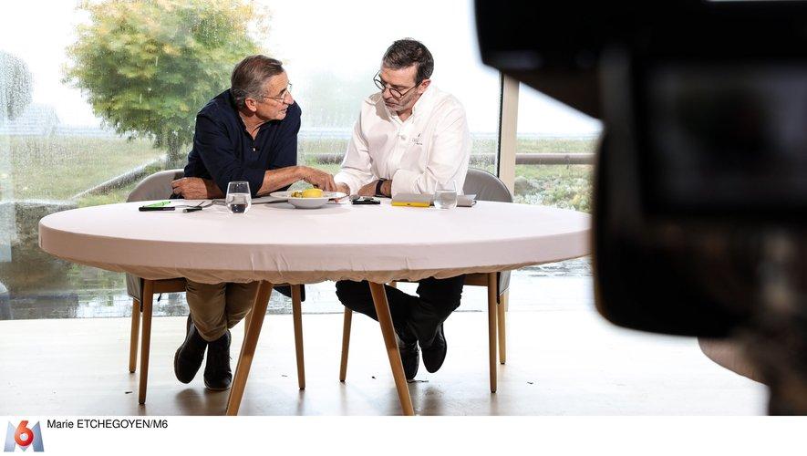"""Michel et Sébastien Bras ont joué les jurés dans l'émission """"Top Chef"""""""