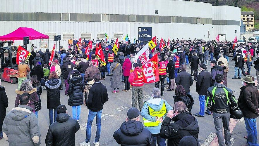 Le 4 février, un rassemblement avait rassemblé 700 personnes.
